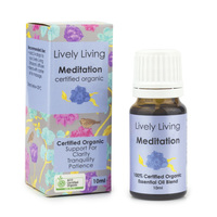 Organic Essential Oil Blend - Meditation (10ml)