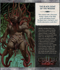 Cthulhu: Death May Die - Black Goat of the Woods Expansion image