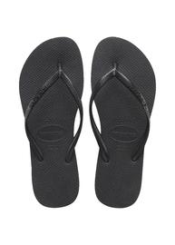 Havaianas: Slim Basic Black Jandal - Size 37/38 BR