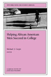 Helping African-American Men Succeed in College Ssue 80: New Directions for Student Services-SS) by S&S image