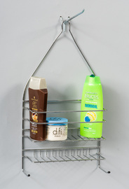 L.T. Williams - Chrome Shower Caddy - Large