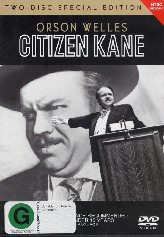Citizen Kane (2 Disc Set) on DVD