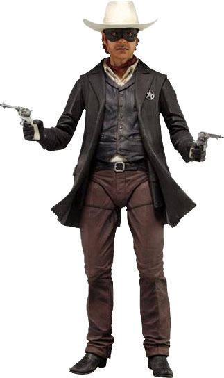The Lone Ranger 1/4 Scale Action Figure