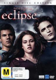 The Twilight Saga - Eclipse (Single Disc) on DVD