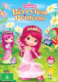 Strawberry Shortcake - Berryfest Princess on DVD