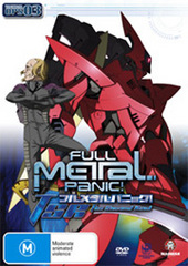 Full Metal Panic! - The Second Raid: Tactical Ops 03 on DVD