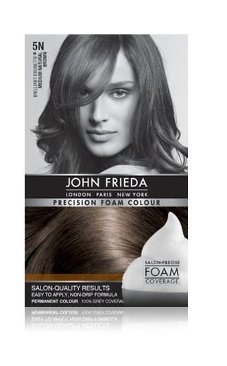 John Frieda Precision Foam Colour - 5N (Medium Natural Brown)