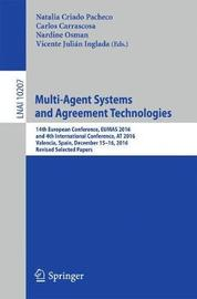 Multi-Agent Systems and Agreement Technologies image