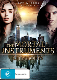 The Mortal Instruments: City of Bones on DVD