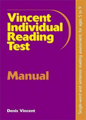Vincent Individual Reading Test by Denis Vincent image