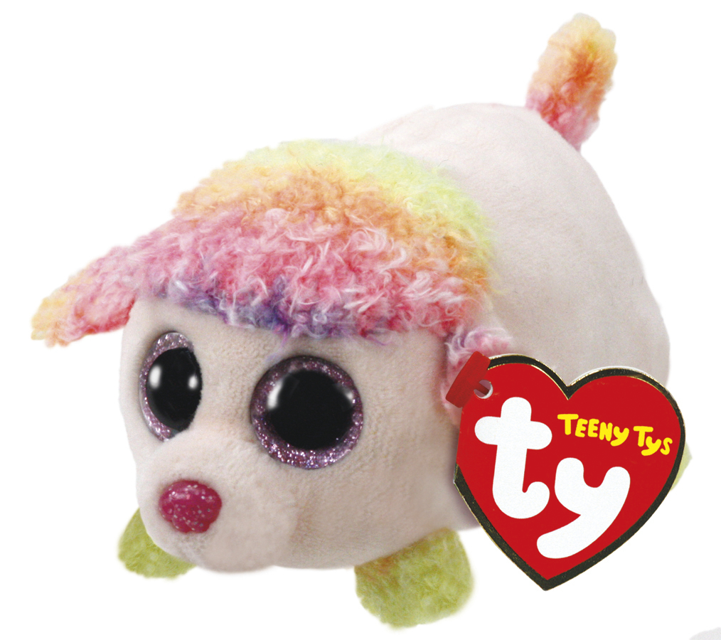 Ty Teeny: Floral Poodle - Small Plush image