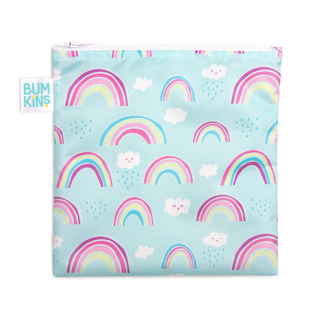 Bumkins: Large Snack Bag - Rainbow
