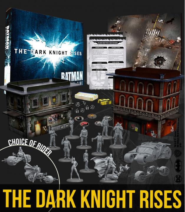 Batman Miniature Game: The Dark Knight Rises Game Box