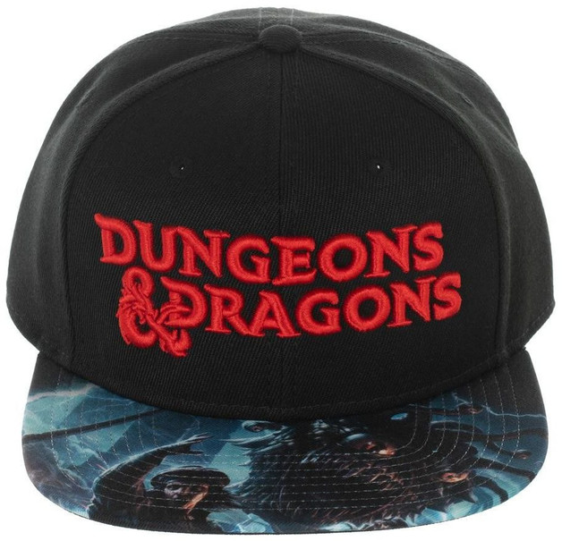 Dungeons & Dragons: Red Logo Acrylic Snapback Cap