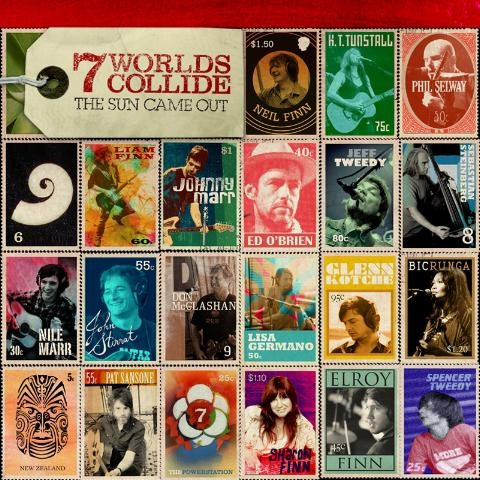 The Sun Came Out (2LP) by 7 Worlds Collide image