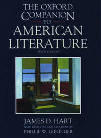 The Oxford Companion to American Literature by James D. Hart image