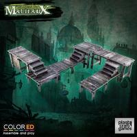 ColorED Scenery: Malifaux - Swamp Walkway Set