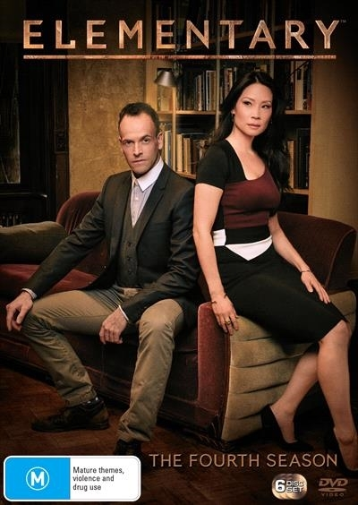 Elementary - The Complete Fourth Season on DVD image