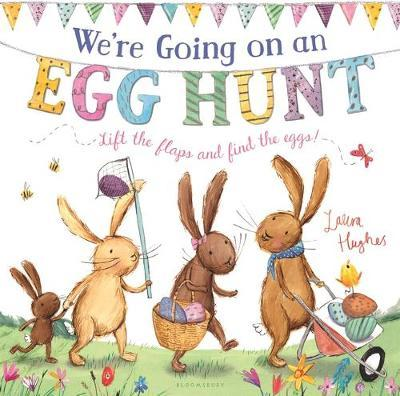 We're Going on an Egg Hunt (Padded Board Book) image