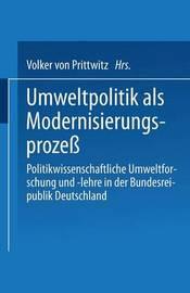 Umweltpolitik ALS Modernisierungsprozess