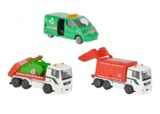 Majorette: City Playset - Trash Trucks