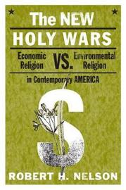 The New Holy Wars by Robert H Nelson image