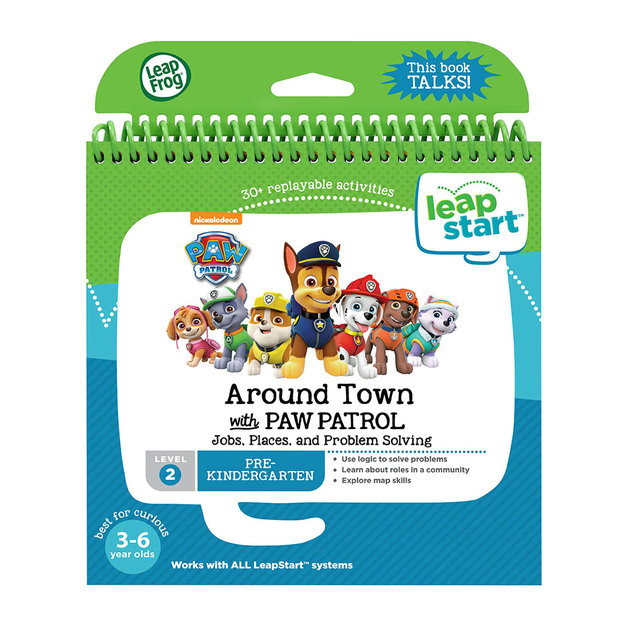 Leapstart - PAW Patrol Around Town - Activity Book (Level 2)