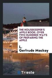 The Housekeeper's Apple Book by L Gertrude MacKay image