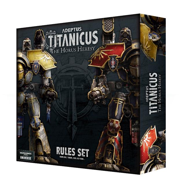 Warhammer 40,000 Adeptus Titanicus: Rules Set