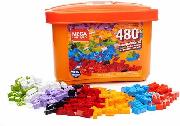Mega Construx: Wonder Builder Tub - 480pcs