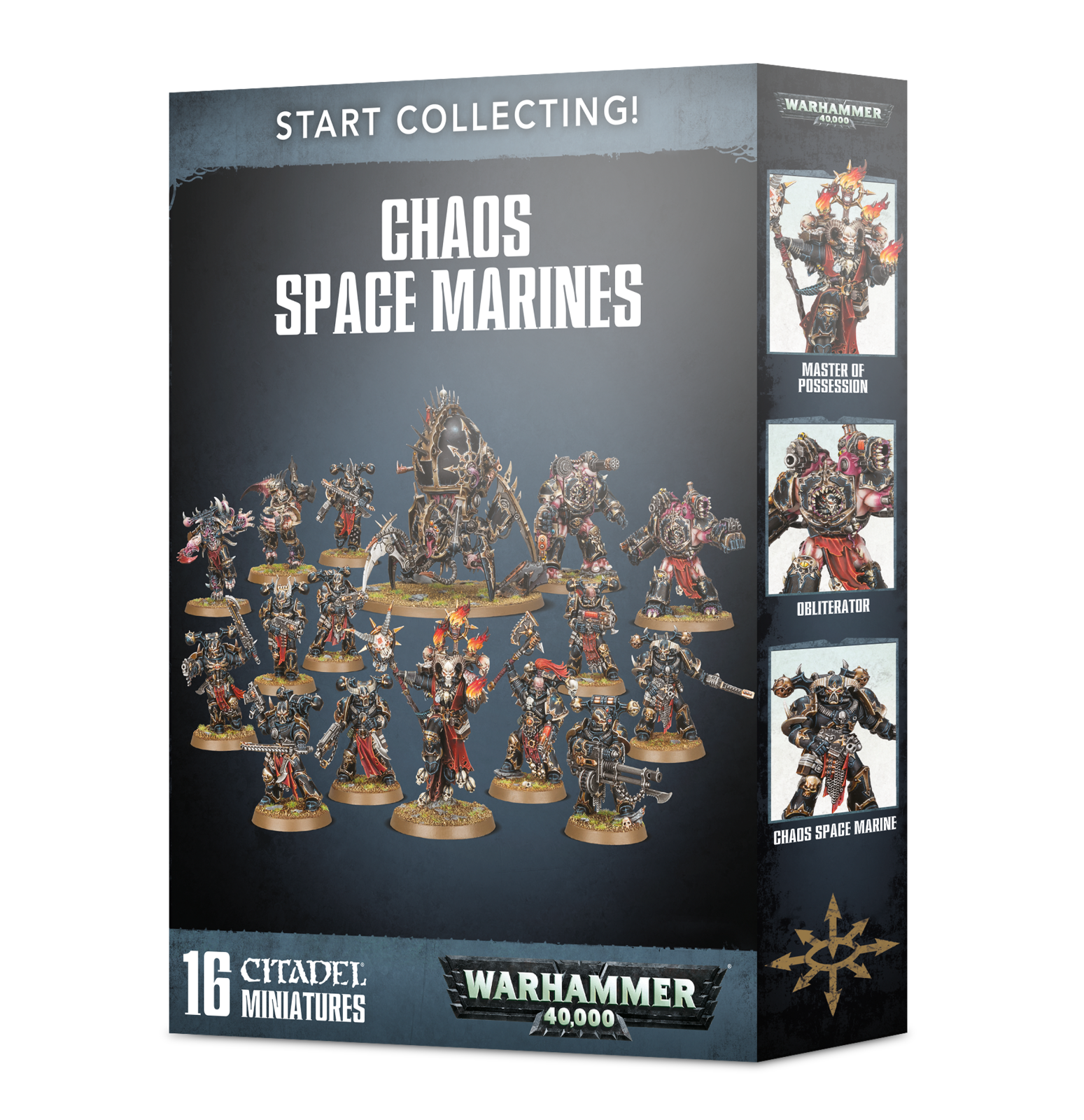 Warhammer 40,000: Start Collecting! Chaos Space Marines image