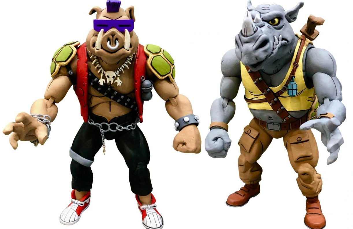 TMNT: Action Figure 2-Pack - Rocksteady & Bebop image