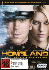 Homeland - Season 1 on DVD