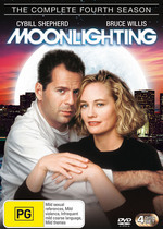 Moonlighting - Complete Season 4 (4 Disc Set) on DVD