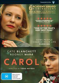 Carol on DVD