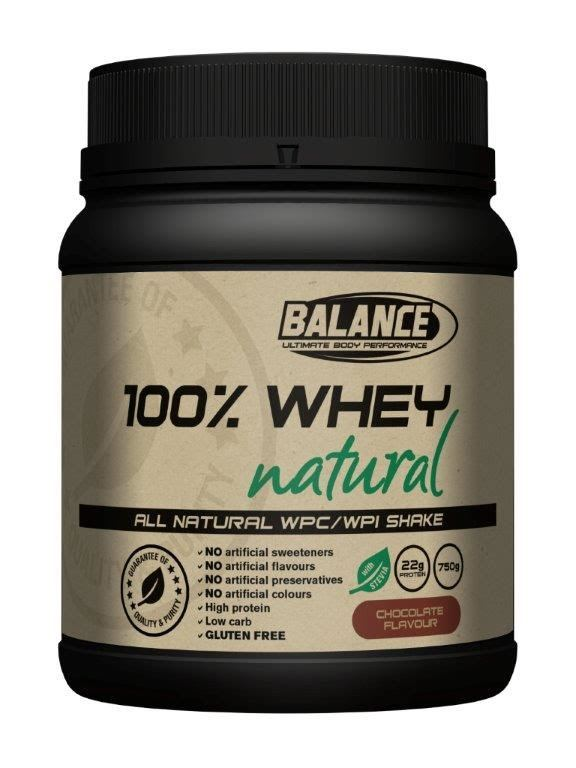 Balance 100% Whey Natural - Chocolate (750g)