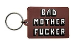 Pulp Fiction: Bad Mother Rubber Keychain (6cm)