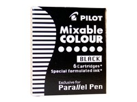 Pilot Parallel Calligraphy Pen Ink Refill - Black (6 Pack)