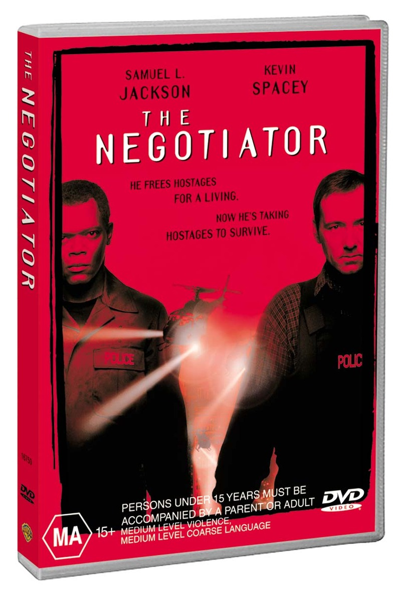 The Negotiator on DVD image