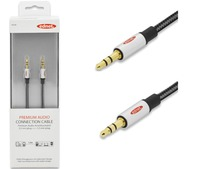 Ednet 3.5mm (M) to 3.5mm (M) Stereo Audio Cable (1.5m) image