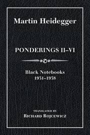 Ponderings II-VI, Limited Edition by Martin Heidegger