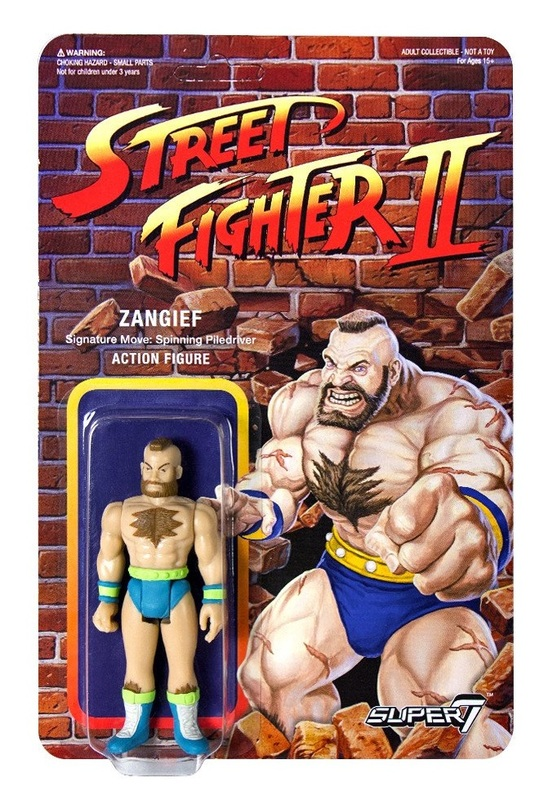 "Street Fighter II: Zangief - 3.75"" CE Retro Action Figure"