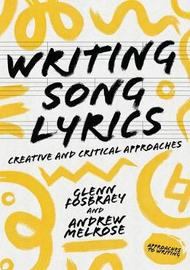 Writing Song Lyrics by Glenn Fosbraey image