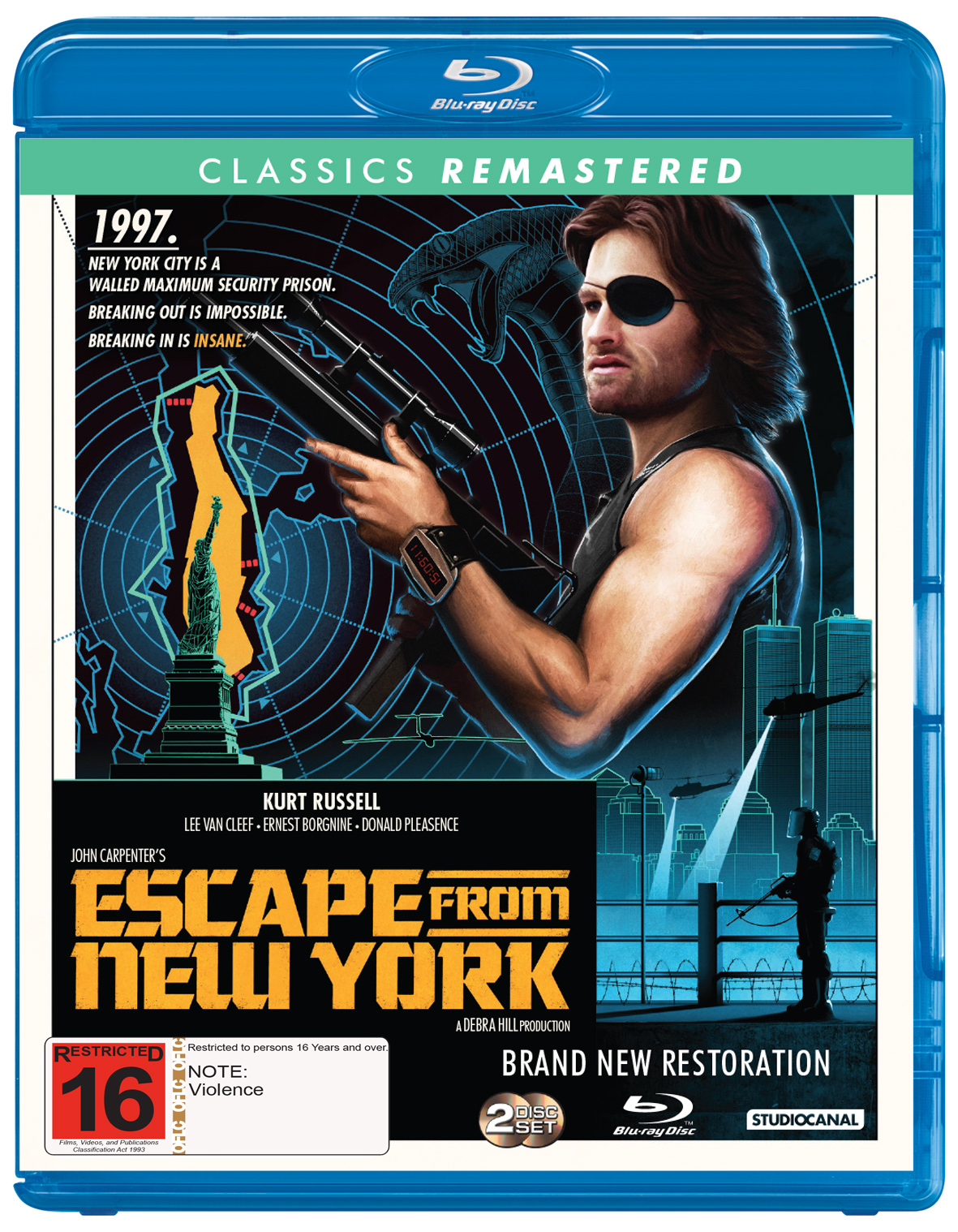 Escape From New York (1981) on Blu-ray image