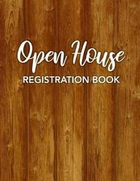 Open House Registration Book by The Realtor Life