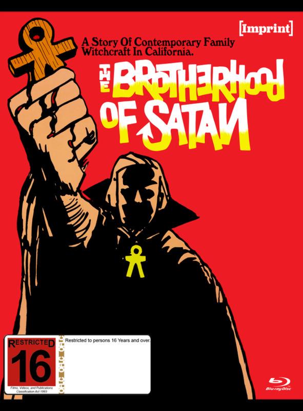The Brotherhood Of Satan (Imprint Collection #57) on Blu-ray