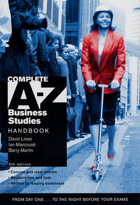Complete A-Z Business Studies Handbook by David Lines image