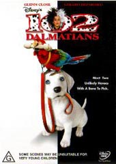 102 Dalmatians on DVD