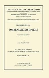 Leonhardi Euleri Opera Omnia: Tertia - Opera P by M. Herzberger