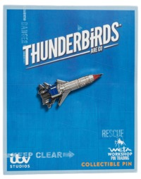Thunderbird 1 Collectible Pin
